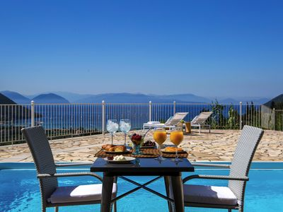 Photo for Special Offer:Villa Afteli With Private Pool & Views of Vasiliki at 155 euros!