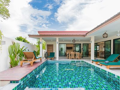Photo for Nnuphar green nature pool villa 2BR