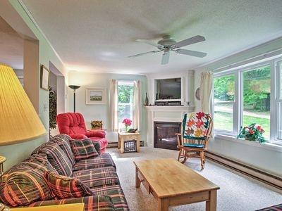 Photo for Cozy Home - Mins to Cranmore & North Conway Shops!