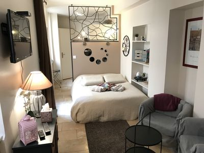 Photo for Romantic apartment in the heart of Beaune