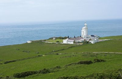 Photo for Penda Cottage attached to St Catherine's Lighthouse sleeps five people set on the Isle of Wight.