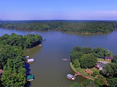 Photo for Great Family Vacation! Private Dock; Deep Cove; Pet Friendly on Lake Norman;