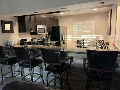 Photo for Gorgeous 3BD/2BA condo in the well desired Desert Princess Golf and Country Club