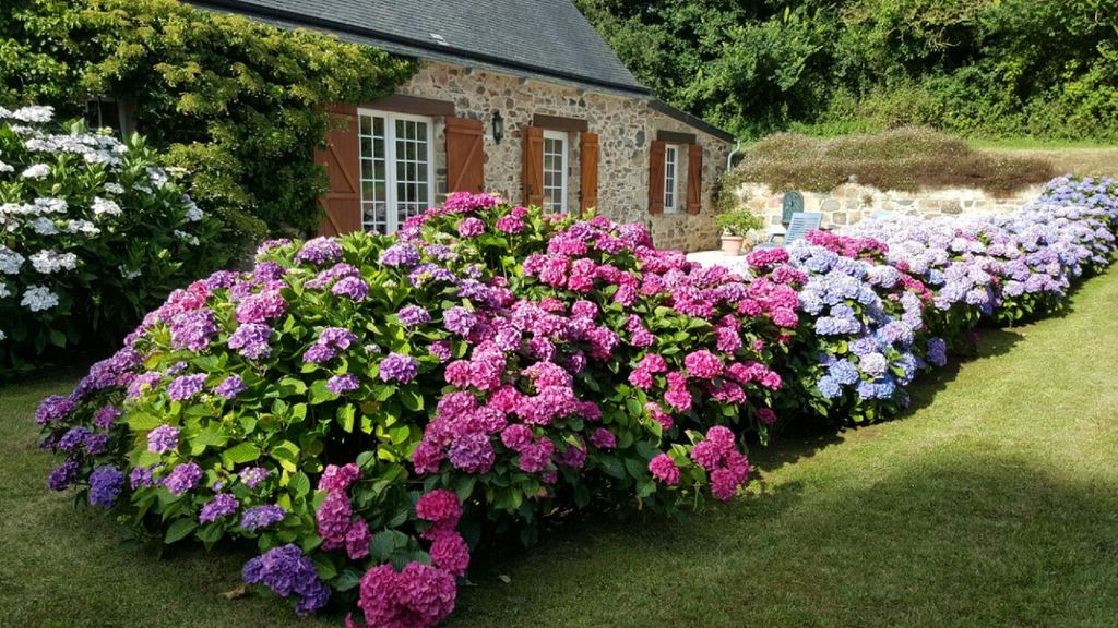 Breton House Full Of Character In A Calm Area Surrounded By Greenery Pleubian Brittany