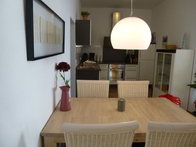 Photo for Exclusive apartment with comfortable atmosphere, beach chair on the sea, maritime ...