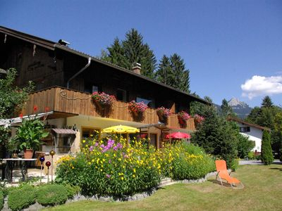 Photo for Cozy u. well-kept apartment in a quiet, idyllic location with Wendelsteinblick,