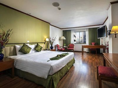 Photo for Deluxe comfortable room 10 minutes walk to BTS