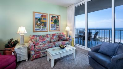 Photo for Beach Club A806 - Direct Gulf View! Right on the Beach! Luxury Resort! WIFI