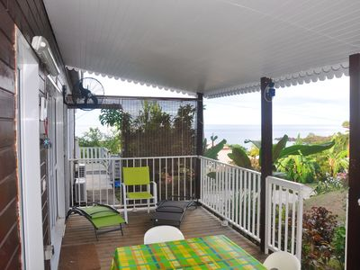 Photo for Homerez last minute deal - Amazing bungalow with sea view