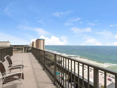 Photo for Rooftop Views of The Gulf! 1800 Square Foot Private Rooftop Terrace!