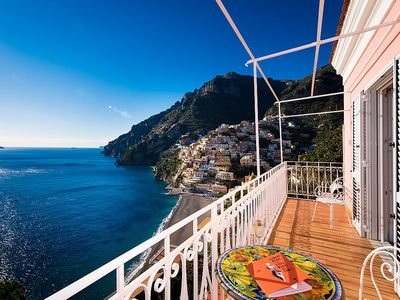 Photo for Villa Tulipano: An elegant and modern two-story independent house located in the center of Positano, with Free WI-FI.