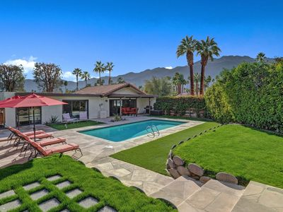 Photo for Desert Zen in Palm Springs - Quiet Cul-de-Sac w/ Private Pool