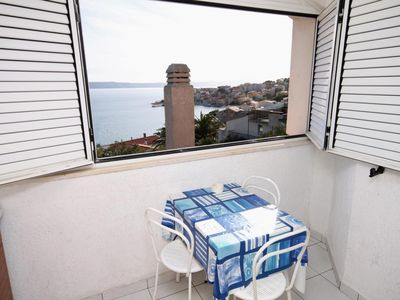 Photo for Studio flat with air-conditioning Igrane, Makarska (AS-5266-a)