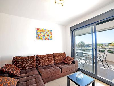 "Photo for Apartment a short walk away (432 m) from the ""Playa del Ministre"" in Xàbia with Lift, Parking, Internet, Washing machine (460520)"