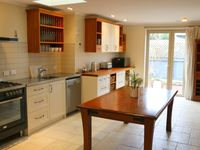 The cottage was absolutely lovely, warm and cozy with a great kitchen.
