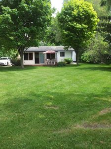 Relax in This Updated Lakefront House!  Pontoon Also Available To Rent!