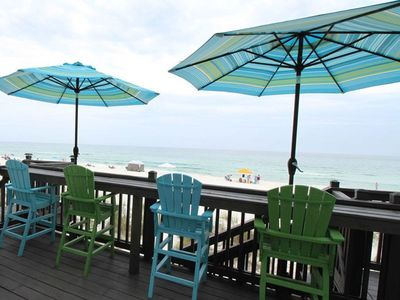 Photo for Beach Front Luxury Townhouse with Beach Front Pool! - 4 BR 4.5 BA (sleeps 14)