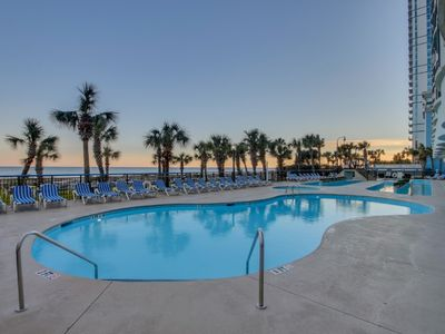 Photo for 1 BR Oceanfront Condo/Snowbird Special Rates Available!!!