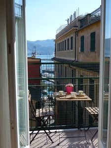 Photo for Bright apartment at 30 meters from the sea, overlooking the harbor