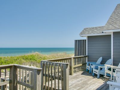 Photo for Dolphins Walk: Gorgeous home with gorgeous ocean views! Well-appointed oceanfront duplex.