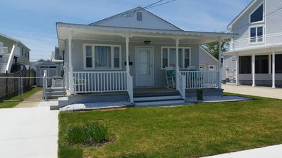 Photo for Bay view single home in Wildwood Crest. Close to Sunset Lake yet close to the wonderful beaches of Wildwood Crest.