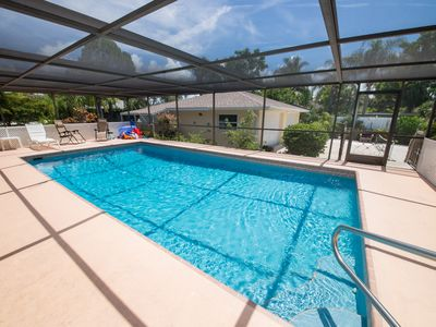 Photo for August Special-Large pool/lanai, Closest beach home to I-75! Kayak/PaddleBoard