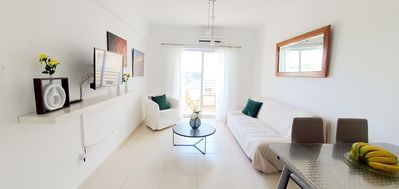Photo for VOSKOU SUNLIGHT OROKLINI, FLAT NO.111, 2 KM FROM YIANNADES BEACH