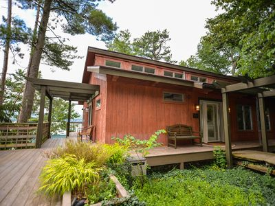 Photo for Sunset Lodge - Custom Post & Beam Cabin Near Watkins Glen!