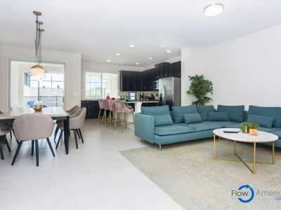 Photo for Disney On Budget - Solara Resort - Amazing Relaxing 4 Beds 4.5 Baths Townhome - 5 Miles To Disney