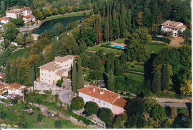Aerial View of Villa Luciano