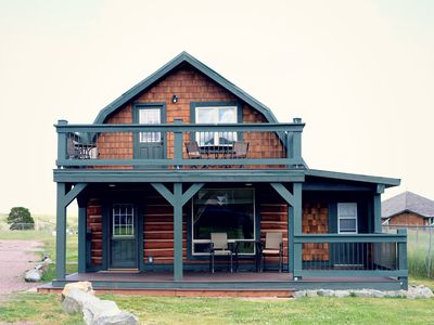 Photo for Historic 1906 Cabin Restored Into Luxury Rental-Amazing Views And Central Locati