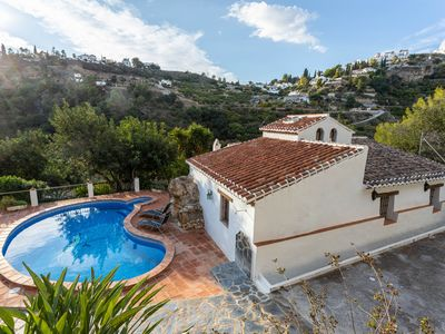 Photo for Lovely rural Andalusian villa w/ private pool & mountain views from patio!