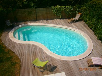 Photo for Villa with pool, calm in the historical city (ideal for famillies)