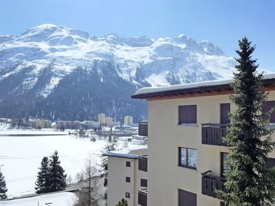Photo for Apartment Chesa Sonnalpine B 52 in St. Moritz - 4 persons, 2 bedrooms
