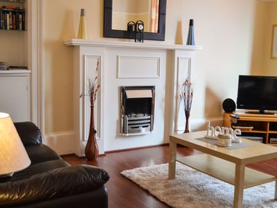 Photo for Shorefront apartment with private parking 200m town centre Dunoon, sleeps 6, pet friendly
