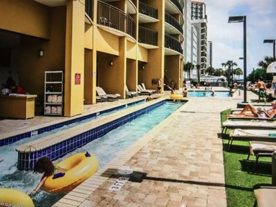 Photo for OCEANFRONT 7/11/19-7/14/19, Hilton Condo for 8!