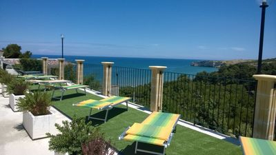 Photo for Two-room apartment B for four people at Residence Nido Verde on the Gargano