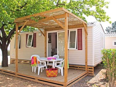 Photo for Camping La Prairie *** - Mobile Home Texas 4 Rooms 8 People