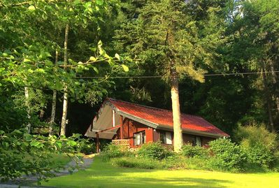 Chalet Waldeck - high up bordering the National Park woods