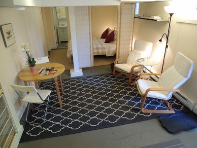 Photo for Cozy, Contemporary, Convenient Newly Renovated Private Sellwood Studio Apartment