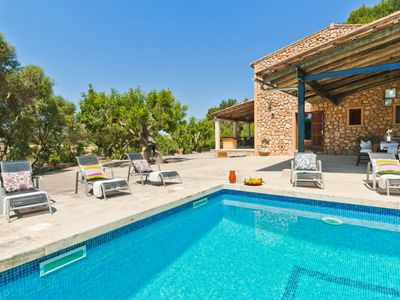 Photo for Authentic country house in quiet situation only 1,5km outside of Sant Joan