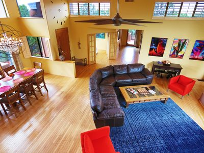 Photo for Light and airy Zen retreat in Sedona; Spacious, secluded with red rock views!
