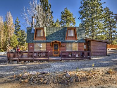 Photo for Bayview Cabin: Charming and Rustic Gambrel Cabin with Lake Views and Close to Hiking Trails!