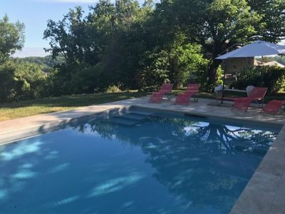 Photo for Characteristic holiday home with private  pool, privacy and stunning view
