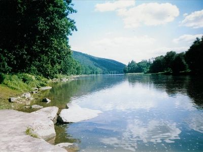 Photo for Allegheny Riverfront (Tionesta/Tidioute) - Secluded 3000 Sq Ft House