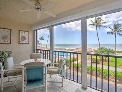 Photo for Oceanfront Bonita Springs Condo w/Lanai & Pool!