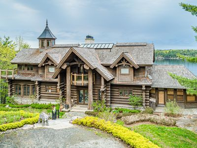 Photo for Westwood~Stunning custom built Lake Joseph Luxury Cottage