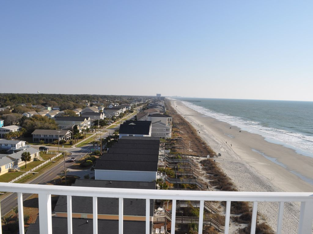 One Ocean Place 3br 3 Bath End Unit Large Balcony Murrells Inlet Myrtle Beach Grand Strand