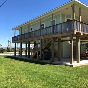 Photo for New beach house located in Sea Isle, two blocks from beach.