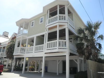 Photo for Luxurious ocean view 6-bedroom home on Carolina Beach